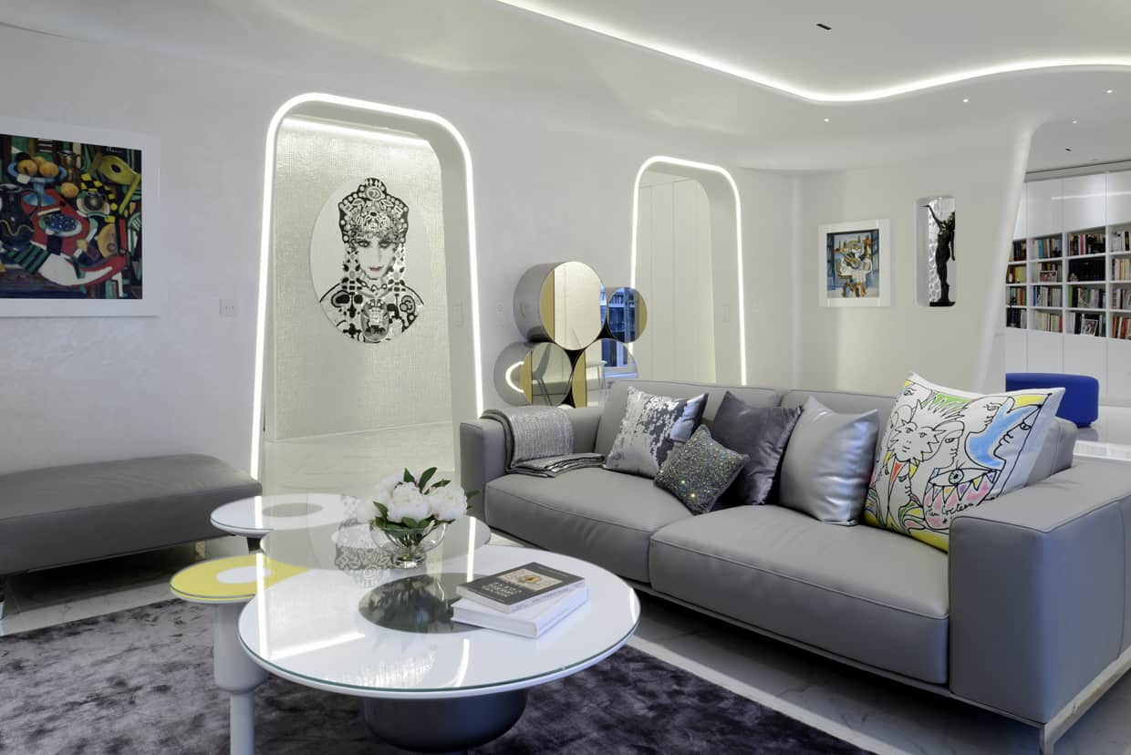 Superieur Denise Omer Design Appartement Paris Luxe Decoration Neuilly Salon
